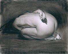 Estudio de figura humana, #Dibujo de Steve Huston. #Arte #ilustracion