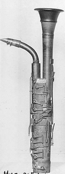Bass Clarinet ca. 1840, Probably Paolo del Maino