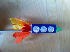 Paper Rocket on a Stick! Kids Crafts, Arts And Crafts, Space Projects, Space Crafts, Day Camp Activities, Paper Rockets, Firework Rocket, Space Classroom, Bonfire Night