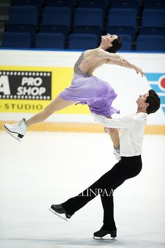 Tessa Virtue & Scott Moir, Canada - October 2013