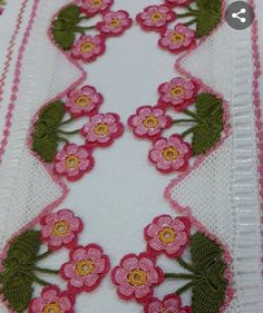 Crochet Borders, Crochet Flower Patterns, Baby Knitting Patterns, Crochet Flowers, Crochet Earrings Pattern, Crochet Necklace, Crochet Skirts, Love Crochet, Diy Gifts