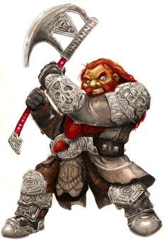 Dwarf Warrior by ~Nigromaggot on deviantART