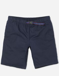 Carhartt WIP - Colton Clip Short dark navy arrow ribbon Belt stone washed