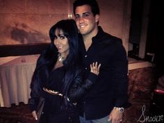 Nicole Snooki Polizzi and Jionni LaValle attend Superstars for Sandy Relief Snooki And Jwoww, Nicole Snooki, Wwe Superstars, Fur Coat, Jackets, Fashion, Down Jackets, Moda, Fashion Styles