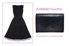 A perfect clutch for a perfect little black dress@ Wild Inga#order +4 0721.331.269 #clutch#black#leather#elegance#stylish#fashion
