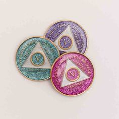 Brilliant Triplate AA Medallions for that special anniversary.