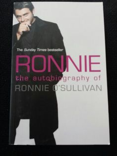 Ronnie O'Sullivan Ronnie O'sullivan, The Sunday Times, Reading Lists, Best Sellers, Books, Reading, Libros, Playlists, Book