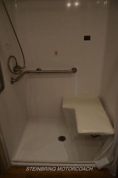 Accessible RV transfer in shower