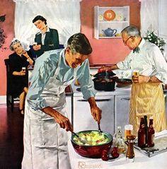 ♕ Муж с машиной - ерунда. Муж готовит - это да.