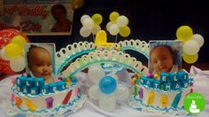 Everything is more fun in two's.. just like this cake for these adorable twins. #nikoncakes #twins #christening