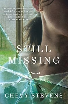 Still Missing by Chevy Stevens- This books is fantastic and if you haven't read it then run to your nearest book store and get it. It is a little scary at times in the sense that the main character gets abducted but it's got some crazy twists and turns that you will never see coming.