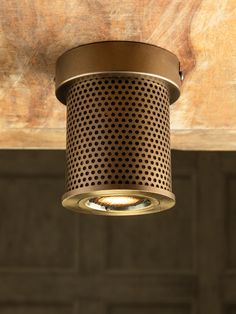 Practical antique finished surface mounted spotlight, with an anti glare honeycomb louvre. Spot Lights, Wall Lights, Honeycomb, Light Up, Louvre, Surface, Antiques, Design, Antiquities