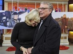 """Mike Nichols on Diane Sawyer: """"In 25 years, she has never said, 'You always do this' or 'You always do that.' She's never brought up an occasion from the past. She's just different from any other woman. We don't go anywhere. We have our secret life in our own little place. I don't know any secrets about what makes a marriage work, except if you can marry Diane, you'll be in great shape."""" -from EW"""