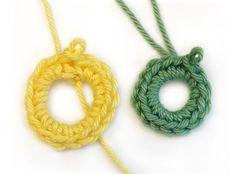 Magisk ring Crochet Rings, Knit Crochet, Knitting, Crafts, Diy, Inspiration, Jewelry, Crochet Ideas, Tejidos