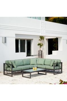 This would be awesome at my mom's house in Florida by the pool! Wood Patio Furniture, Outdoor Furniture Design, Outdoor Living, Outdoor Decor, Outdoor Stuff, Outdoor Ideas, Backyard Ideas, Garden Ideas, Contemporary Outdoor Furniture