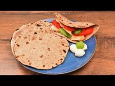 Whole wheat bread(roti): ready in a few minutes without yeast! - YouTube