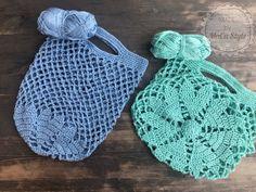 Einkaufsnetz mit Herzboden      Vorwort:  Diese wunderschöne Einkaufstasche wurde aus 100% Baumwollgarn hergestellt.  Ich habe hier NS 3,5 verwendet. Die extravagante Tasche eignet sich hervorragend für einen kleinen Einkauf oder für lose