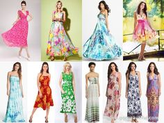 Beach Wedding Attendant Dresses