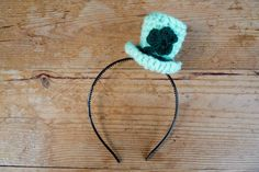 Irish Hat, Sea Green Color, Leprechaun Hats, Crochet Decoration, Christmas Hat, St Patricks Day, Gifts For Her, Crochet Necklace, Hair Accessories