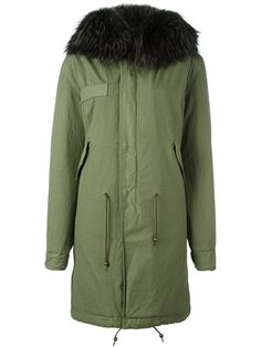 Mr & Mrs Italy mid-length hooded coat
