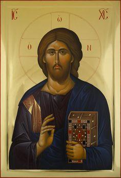 Byzantine Art, Byzantine Icons, Catholic Art, Religious Art, Jesus Art, Jesus Christ, Christ Pantocrator, Images Of Christ, Orthodox Christianity