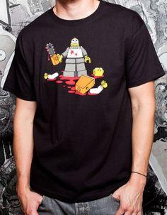 Lego killer tshirt / Camiseta de Lego asesino