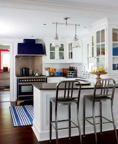 How pretty is the blue stove???
