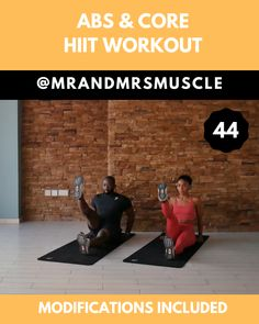 Abs Workout Pin and share this intense abs and core HIIT workout for toning! Full Video on our YT Channel ---Pin and share this intense abs and core HIIT workout for toning! Full Video on our YT Channel --- Hiit Workout Videos, Full Body Hiit Workout, Hiit Workout At Home, Lower Ab Workouts, Gym Workout Tips, Fitness Workout For Women, Body Fitness, Workout For Beginners, Workout Challenge