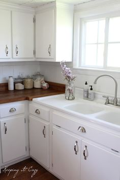 Keeping It Cozy: All About Painting Cabinets