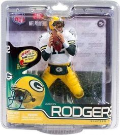 Aaron Rodgers Green Bay Packers McFarlane Action Figure NIB NFL Series 30  Pack 87e085dc4