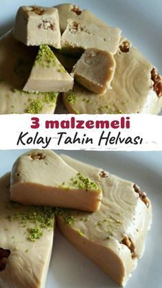Üç Malzemeli Kolay Tahin Helvası – Nefis Yemek Tarifleri How to Make Easy Tahini Halva Recipe with Three Ingredients? Illustrated explanation of this recipe in the book of people and photos of those who try it are here. Tahini, Homemade Desserts, Easy Desserts, Dessert Recipes, Pizza Recipes, Gourmet Recipes, Healthy Recipes, Delicious Recipes, Halva Recipe