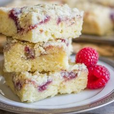 Raspberry-Almond-Crumb-Bars