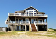 Twiddy Outer Banks Vacation Home - Horse Inn Around - 4x4 - Semi-Oceanfront - 8 Bedrooms