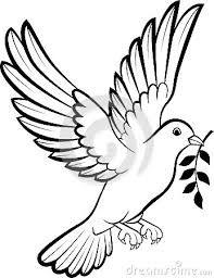 Resultado de imagem para pomba da paz desenho