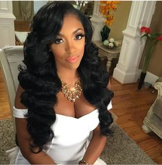 I wonder if she used a loose wave or body wave for this style, either would work. November 1st is the deadline.