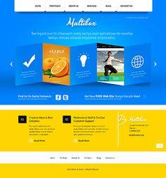 Multibox Design Joomla Templates by Delta