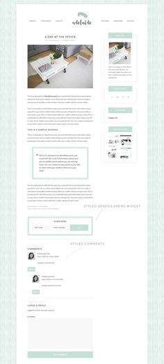 Adelaide - Airy, Feminine Theme by Ana Quezada Designs on Creative Market