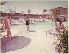 1950's pool party - Bing Images