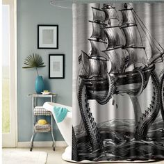 octopus basket shower curtain shower curtain fresh bathroom idea for your bathroom interior beauty Customized a special octopus basket shower curtain
