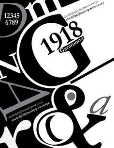 newest typography poster <3 Garamond