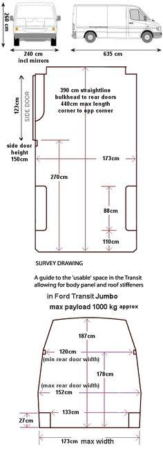 resultado de imagen de mercedes sprinter van dimensions