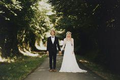 Laid Back French Château Wedding: Hildegunn + Samuel