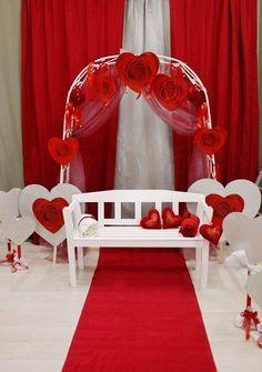 Романтическая фотосессия на День Валентина (идеи). скамейка