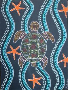 Peinture style aborigène