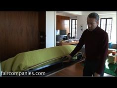 "NYC ""Swiss Army knife"" apartment's walls open, fold & slide - YouTube"