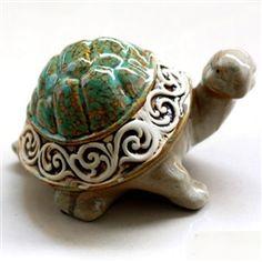 Cute Home Accessories Turtle Ceramic Decorative Figures