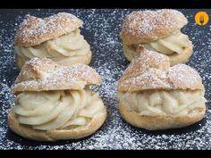 Profiteroles de Crema - Recetas de Cocina Casera - Recetas fáciles y sencillas