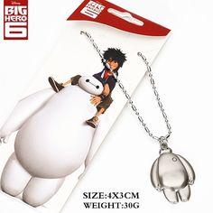 Big Hero 6 Baymax Body Necklace