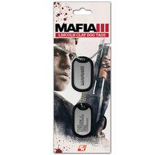 Mafia III Dog Tag Clay Lincoln. Hier bei www.closeup.de