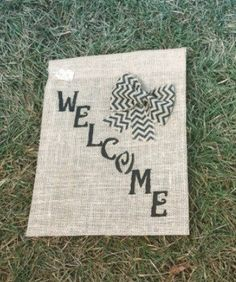 wedding garden flags personalized